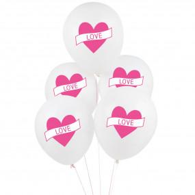 5 Balões Love