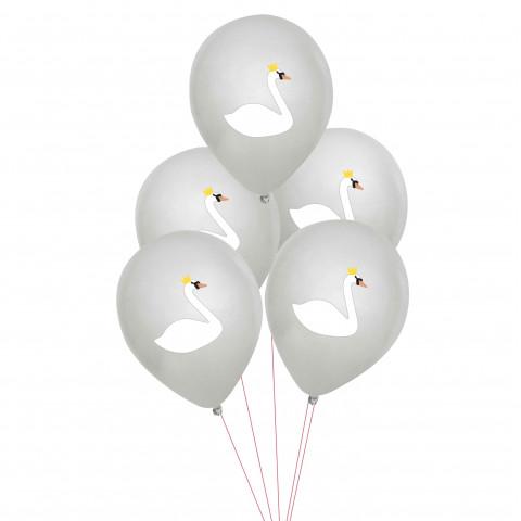 5 Balões CISNES