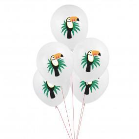 5 Balões Tucanos