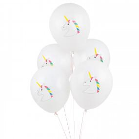 5 Balões UNICORNIOS