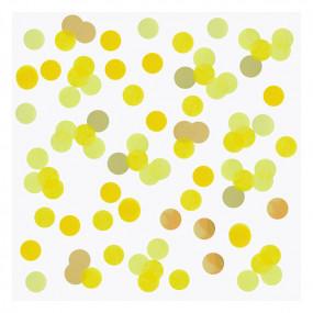 Confetis Amarelos 2.5cm