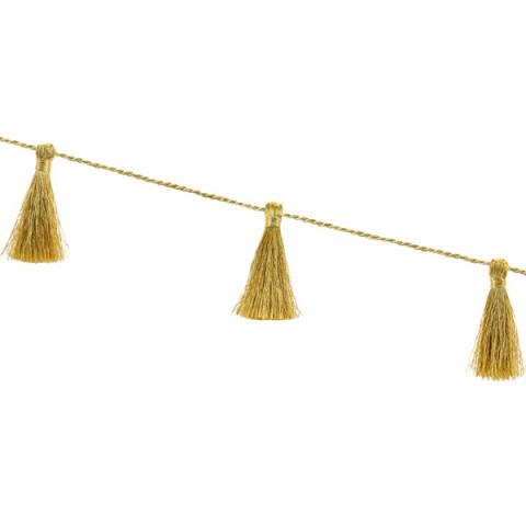 Grinalda Tassel Dourado