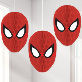 Conj. Bolas Papel Spiderman