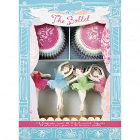 Kit Cupcakes Bailarinas