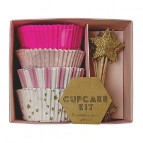 Kit Cupcakes Estrelinhas