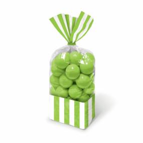 Sacos Celofane Riscas Verdes