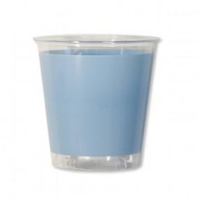 Copos Azul Claro Plástico