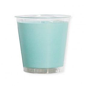 Copos Verde Agua Plástico