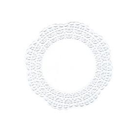 Naperons Brancos 12cm - 100 unidades