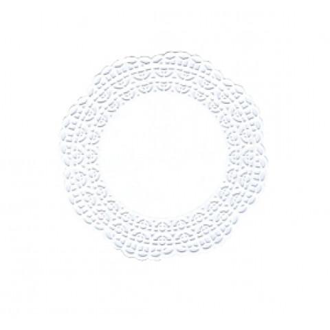 Naperons Brancos 15cm - 100 unidades