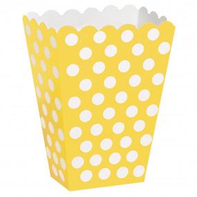 Pacotes Pipocas Bolas Amarelas