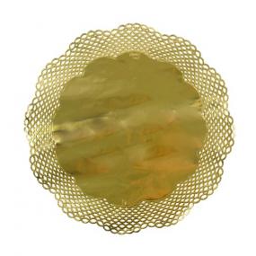 4 Naperons Dourados 36cm