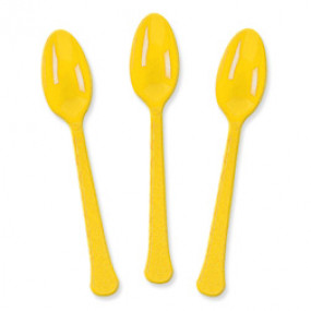 10 colheres Amarelas