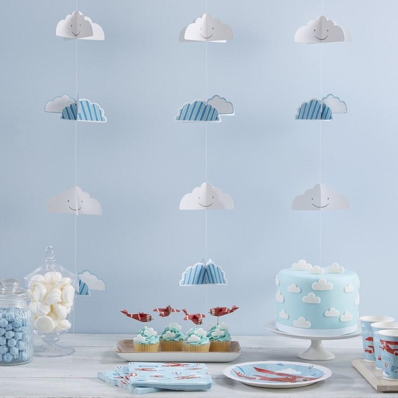 grinaldas nuvens conj 6. Black Bedroom Furniture Sets. Home Design Ideas