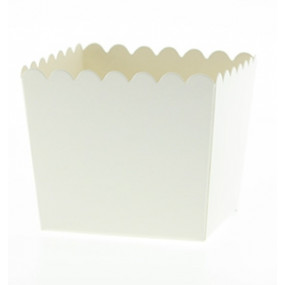 Pacotes Pipocas Branco P