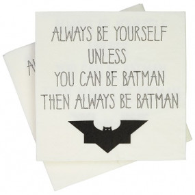 "Guardanapos ""Always Be Batman"""