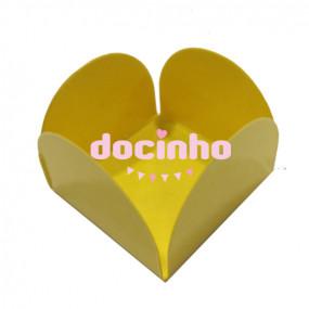 Bases Doces Amarelas Bolas - conj.10