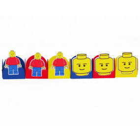 4 Bases Doces Lego