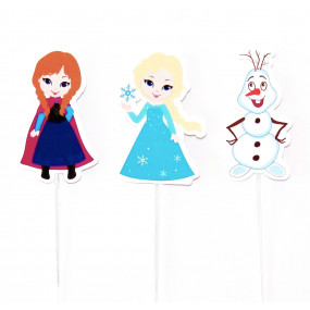 4 Toppers Frozen