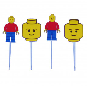 4 Toppers Lego