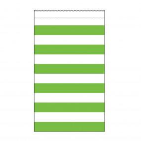 Sacos Papel Riscas Verdes