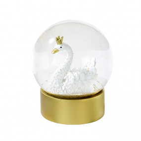 Globo Glitter Cisne