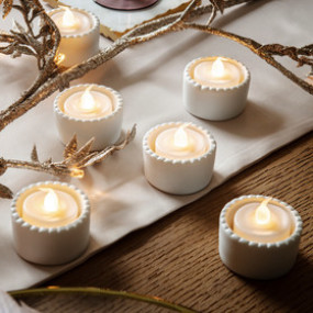 TEA LIGHTS LED - CONJ.6