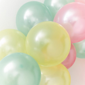 Balões Pastel - Conj. 16