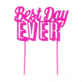 "Topo Bolo ""Best Day Ever"""