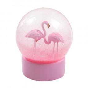 Globo Glitter Flamingos