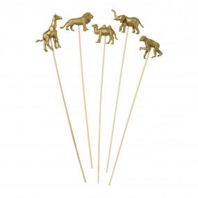 Palitos Animais Dourados