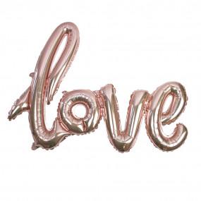 Balão Love ROSEGOLD