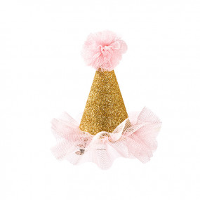 Mini Chapéu Festa Gold