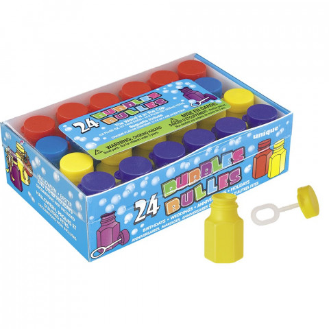 24 Bolas Sabão Coloridas