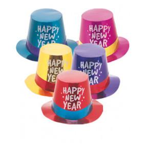 """Cartola """"Happy New Year"""" Colorida"""