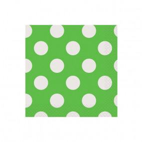 Guardanapos Verde Bolas P