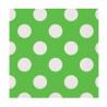 Guardanapos Verdes Bolas