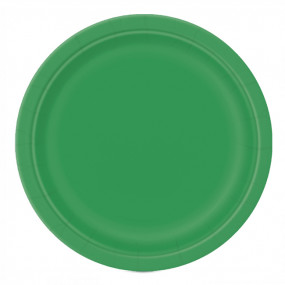 Pratos Verde Esmeralda 23cm