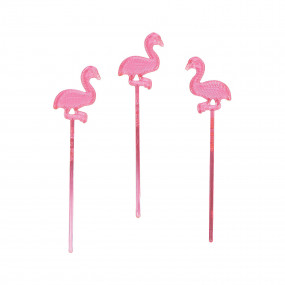 Palitos Flamingos conj. 24
