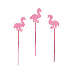Palitos Flamingos conj. 24