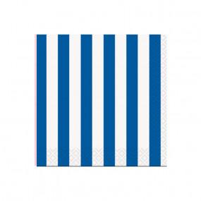 Guardanapos Azul Royal Riscas P