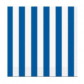 Guardanapos Riscas Azul
