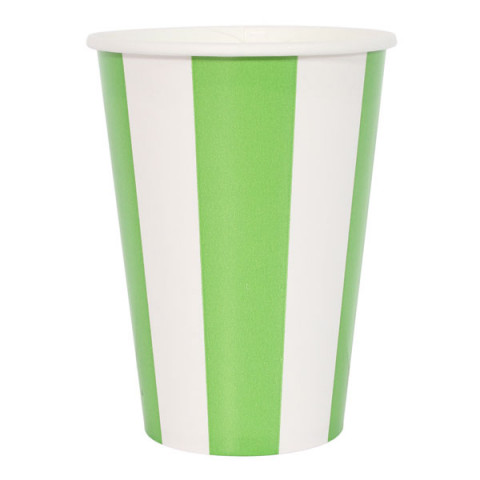 Copos Verde Alface Riscas