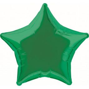 Balão Estrela Verde 50cm