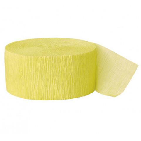 Fita Crepe Amarelo