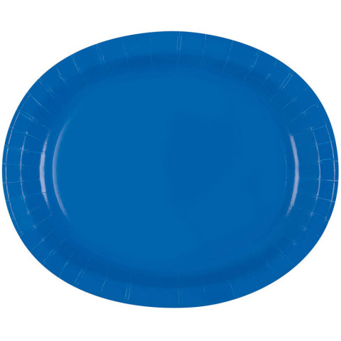 Travessas Oval Azul Royal Conj.8