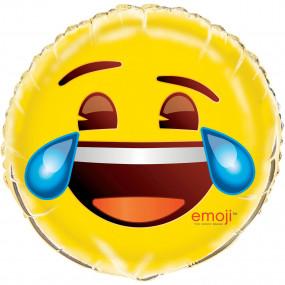 Balão Emoji Cry 45cm