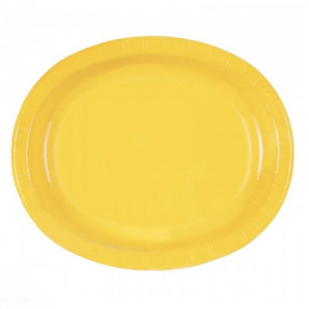Travessas Amarelo Conj.8
