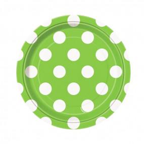 Pratos Verdes Bolas