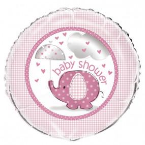 Balão Baby Shower Rosa